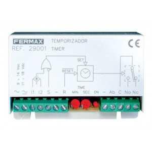 Temporizador programable para timbre.