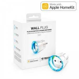 Enchufe de pequeño tamaño para control ON/OFF con aro Led y control de consumo. Versión HOME KIT Apple