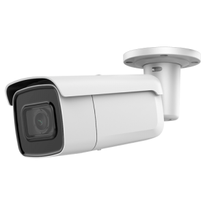 Cámara IP bullet, 4MPx, IR 60mts, 2.8-12mm, H.265+, PoE802.3af. IP67