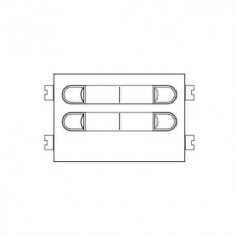 Módulo de pulsadores CITYMAX 4+n 202