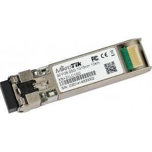Módulo SFP 1/10/25Gb, Monomodo con 1310nm, hasta 10kms Dual LC connector. Mikrotik