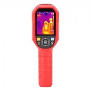 Cámara termográfica de mano, 160x120 VOx, Lente 3.1mm, Sensibilidad térmica ≤50mk, Alta Precisión ±0.5ºCmK. Conexión PC
