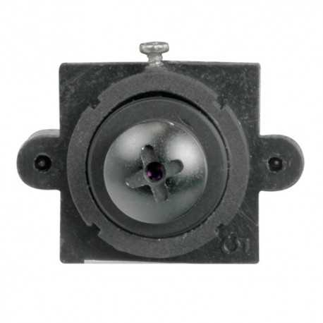 Minicámara pinhole analógica 480 líneas, lente 3.7mm, 1 Lux