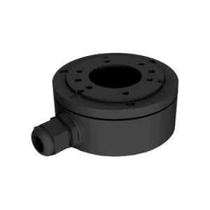 Caja conex. Hikvision. 127mm diámetro. Negro