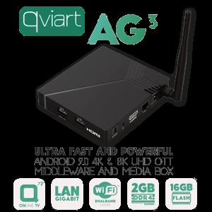 Receptor Android IPTV, 4K, H.265. Wifi integrado 2.4/5Ghz