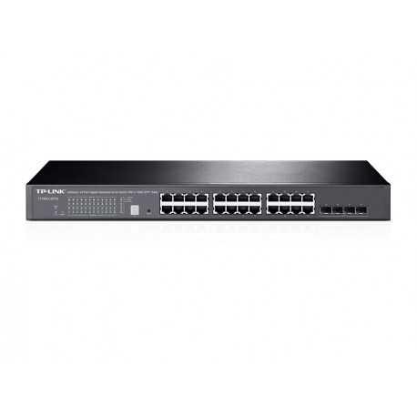 Switch Gestionable de x24 Gigabit, x4 SFP+, montaje S/R (sobremesa o rack). L2+