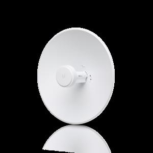AP 2.4Ghz, 28dBm, antena de 18dBi, parabólica 400mm, 2x2 MIMO, puerto 10/100