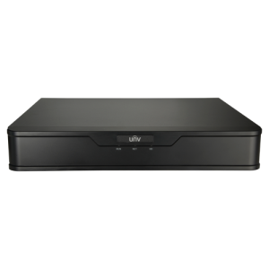 NVR 8ch IP PoE hasta 8Mpx, 80Mbps, UltraH.265, 1 HDD