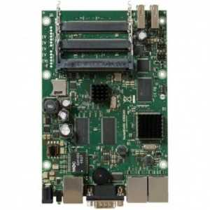 Routerboard a 680MHz, 256MB RAM, x3 Gb, x5 Slots MiniPCI, RS232, x2 USB, Level 5