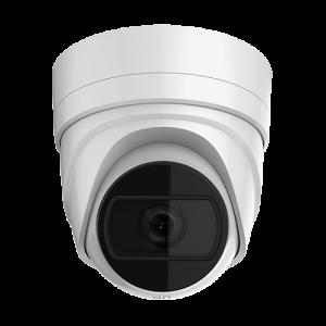 Cámara IP domo, 8Mpx, IR 30mts, 2.8-12mm Autofocus, H265+, IP67, IK10