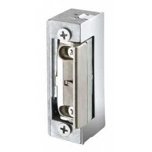 Abre puertas Automático Invisible, sin desbloqueo. Ajustable con tornillos de regulación en el pestillo. 12V AC