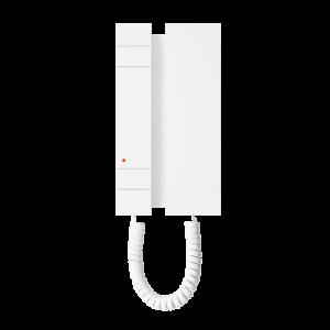 Telefonillo serie MINI, con 2 pulsadores, sistema simplebus 2H. Compatible solo con audio