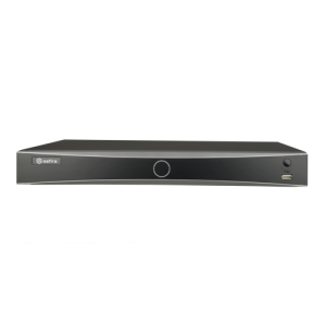 NVR 8ch IP hasta 12Mpx, 80Mbps, H.265+, 2 HDD, Reconocimiento facial hasta en 4 canales
