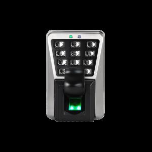 Control de Acceso por huella, Tarjeta EM RFID y teclado metálico apto para exterior IP65, IK10