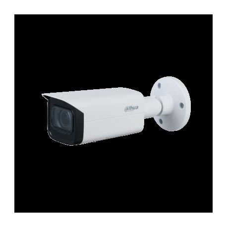 Cámara IP bullet, 5Mpx Starlight, IR 60mts, varifocal motorizada 2.7-13.5mm, H265, PoE802,3af, IP67