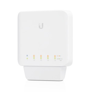 Switch para interior o exterior POE 46W, gestionable L2, Unifiswitch con 5 puertos Gigabit