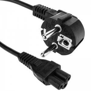 Cable de alimentación, Type C5, 720mm. Conector europeo