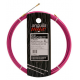Guía pasa cables 12 metros y 4mm. Acero + nylon. Color violeta