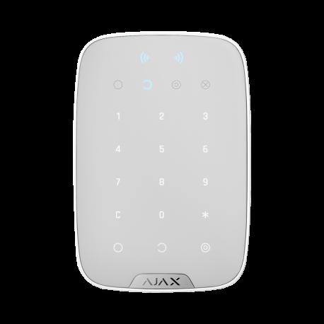 Teclado inalámbrico con lector RFID para central Ajax