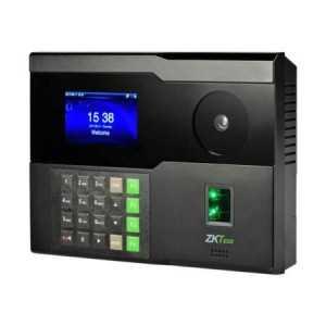 Terminal multibiométrico mediante palma de la mano y huella para control de presencia y control de accesos