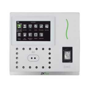 Control de Acceso y Presencia con reconocimiento facial. Rec. Facial, Huellas SilkID, Tarjeta EM RFID y teclado