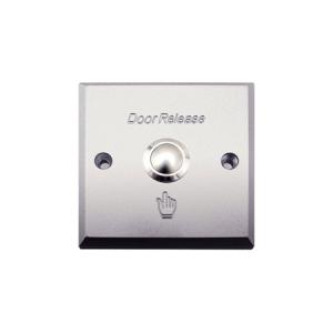 Botón pulsador metálico ZKTeco para apertura de puerta