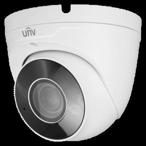 Cámara IP domo, 4Mpx, IR 30mts, lente 2.8-12mm motorizada, UltraH265, PoE802,3af, IP67