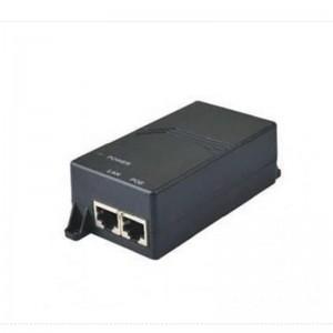 Adaptador POE 802.3af/at 48V, 0.5A. Gigabit