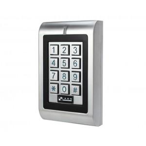 Control de acceso autónomo acceso por teclado y EM RFID. Salida relé, apto para exterior IP66