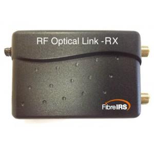 Enlace óptico RF+FI. Receptor (RX)