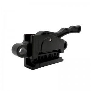 Retenedor con freno ABS y protección UV para cables de Ø 3-5mm