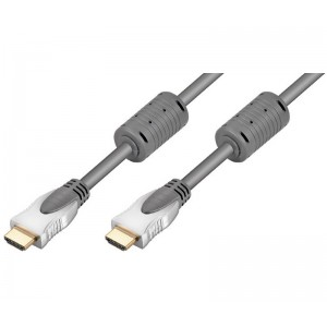 Cable HDMI 1metro v2.0, compatible 4K a 60Hz