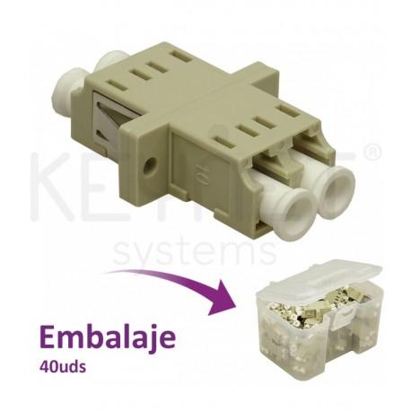 Adaptador LC/PC Multimodo dúplex