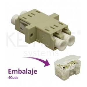 Adaptador LC-PC/LC-PC, MM, Dúplex