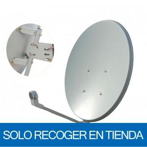 Antena parabólica de 60x54cms, 35,83dB. Acero. Sin embalaje (sólo recoger en tienda)