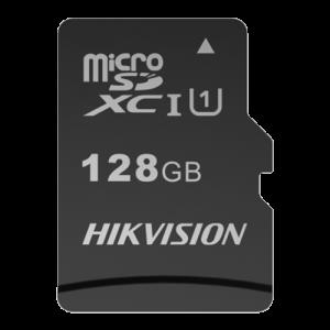Tarjeta de memoria Hikvision, 128 GB, TLC, Clase 10 U1 V30, Hasta 3000 ciclos de escritura, FAT32, Especial para video-vigilanc