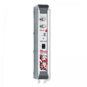 Amplificador mono canal, 53dB, 125 dBuV, 24V. Canal 43