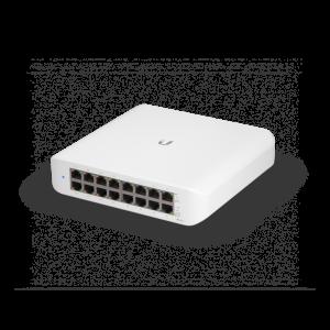 UniFi Switch 16 puertos GIGABIT, x8 puertos PoE. RACK