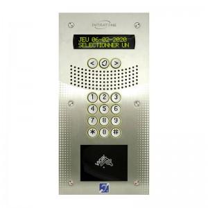 Sistema de videoportero 200 nombres: 1 interfono vídeo V4 con directorio electrónic