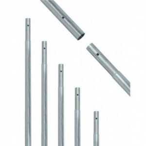 Mástil de hierro galvaniz.2500x35x1,5mm