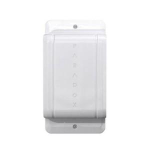 Detector infrarrojo digital para exteriores de visión lateral dual con 4 sensores y antimasking