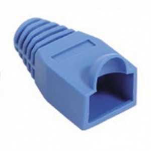 Protector conector color azul