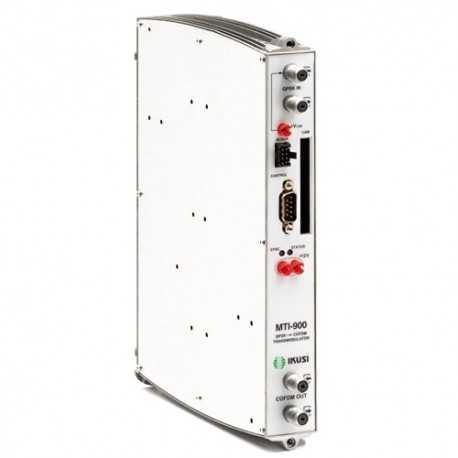 Trans modulador QPSK-COFDM con CI, nivel ajustable 65/80 dBuV