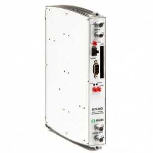 Transmodulador QPSK-COFDM con CI, nivel de ajustable 65/80 dBuV.