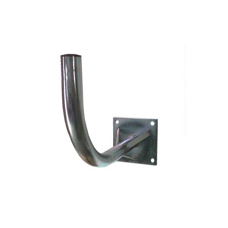 soporte para antena soporte de pared para antenas de hasta 125cms reforzado