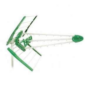 Antena UHF pasiva. 17dB. C58. D/A 20dB. Montaje rápido