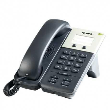 Teléfono IP de 1 cuenta SIP, con chipset TI TITAN, teclas programables, marcación y 3 vías de conferencias. Incluye POE