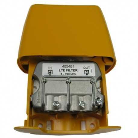 Filtro de Rechazo de 791 a 862Mhz &gt25dB, 5dB (C21-58). Atenuación a 774Mhz 7dB. Selectivo, Exterior. Easy F