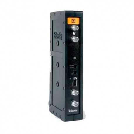 Amplificador FI 950...2150 MHz, G 35-50 dB. Salida 124 dBuV.