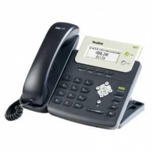 Teléfono IP de 2 cuenta SIP, con display, manos libres, llamada en espera, transferencia de llamadas. Agenda (300 entradas) y l